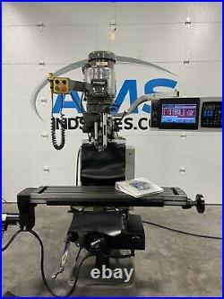 Bridgeport Ez-Trak CNC Milling Machine haas prototrak Acu-Rite anilam Mill Haas