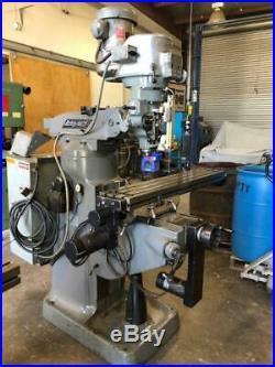 Bridgeport Ez-trak Cnc Milling Machine
