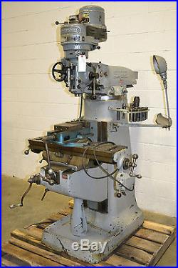 Bridgeport J Head 9 x 32 1HP Milling Machine