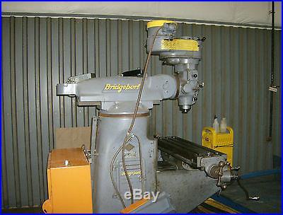 Bridgeport J Head Milling Machine Good Shape