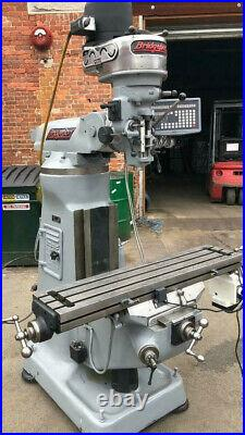 Bridgeport MILLING MACHINE USED DRO POWER FEED