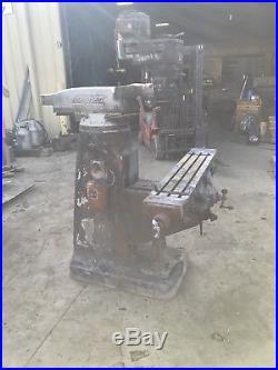 Bridgeport Mill (For Parts)