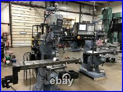 Bridgeport Mill with New CNC Control
