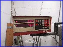 Bridgeport Milling Machine, 1HP with Powerfeed, CNC Controller