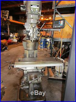Bridgeport Milling Machine (39439)