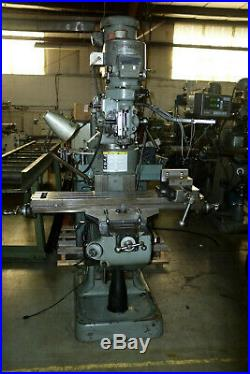 Bridgeport Milling Machine 42Table, 2hp Vari Speed Chrome ways, Digital readout