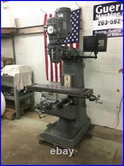 Bridgeport Milling Machine 42 Table, Anilam DRO