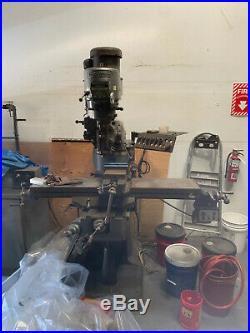 Bridgeport Milling Machine. Looking for a swift sale, please make offer