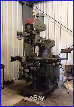 Bridgeport Milling Machine Series II vertical 4 hp