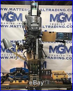 Bridgeport Milling Machine Ultimate Tooling Package Late Model 3-Axis DRO