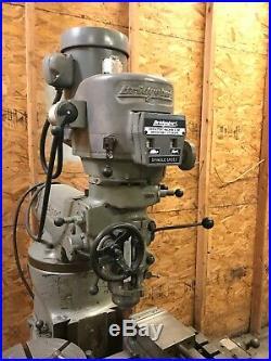 Bridgeport Milling Machine Vari Speed 1 1/2HP Replacement Head