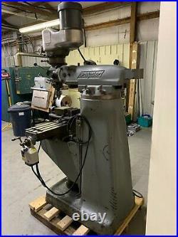 Bridgeport Milling Machine Variable Speed, 1-1/2 HP SEE VIDEO