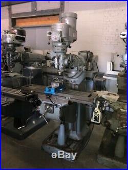 Bridgeport Milling Machine vari speed power feed 9x 42