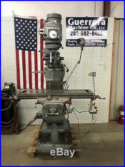 Bridgeport Milling Machine with Power Feed