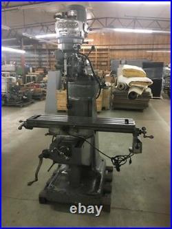 Bridgeport Milling Machine with Servo 150 Power Feed