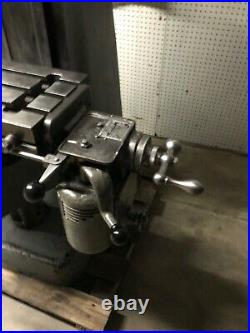 Bridgeport Milling Machine with Shaping Attachment