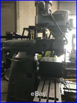 Bridgeport Milling Machine with digital Readout