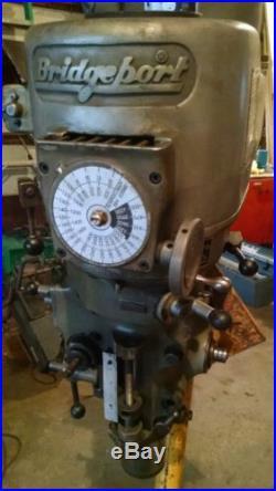 Bridgeport Series 1 1-1/2 Hp Milling Head 2J