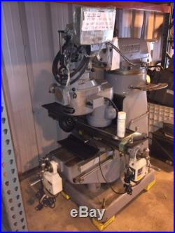 Bridgeport Series 1, 1.5 HP Mill