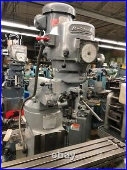 Bridgeport Series 1- 2HP BR2J Variable Speed Vertical Turret Milling Machine