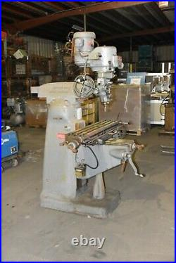 Bridgeport Series 1 2 hp 42x9 Table Milling Machine 3 Phase