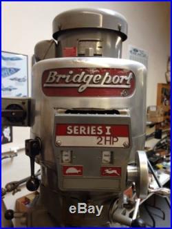 Bridgeport Series 1, 2 hp lots of extras