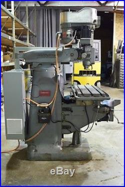 Bridgeport Series 1 3-Axis Knee Mill 34 x 12-1/2 Working Surface Siemens CNC