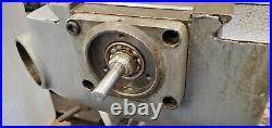 Bridgeport Series 1 Mill Milling Machine Base, Knee, Saddle, Ball Screws Parts