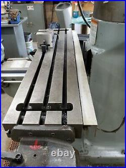 Bridgeport Series 1 Milling Machine 2HP 9x42 Table LOADED & CLEAN