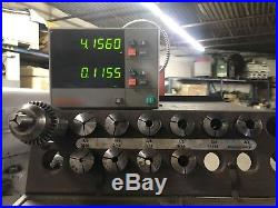 Bridgeport Series 1 Vertical Milling Machine With X power feed and Mitutoyo DRO