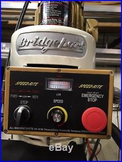 Bridgeport Series II Special Acu Rite G2 Milling (11x58) table