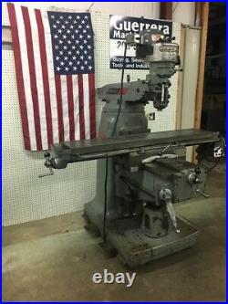 Bridgeport Series II Special Milling Machine With Power Feed 11 x 58 Table