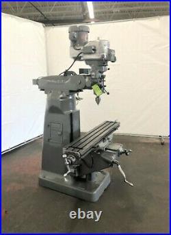 Bridgeport Series I, 2 HP, Vertical Ram Type Milling Machine, ID# M-080
