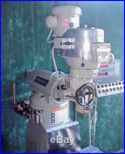 Bridgeport Series I Knee Type Mill 9 x 48 Milling Machine 2 Hp DRO Power Feed