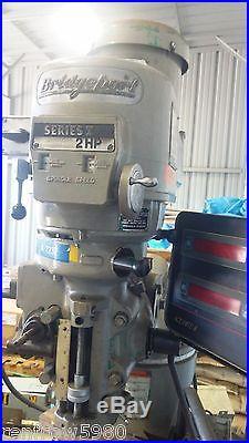Bridgeport Series I Milling Machine 2HP