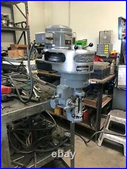 Bridgeport Step Pulley Milling Machine Head FULLY REBUILT
