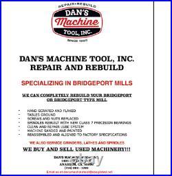 Bridgeport Step Pulley Milling Machine M Head