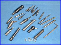 Bridgeport Tools No 2 Boring Head Set with Accessories
