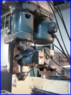 Bridgeport V2E3 Series 1 CNC 3 Axis Knee Milling Machine withAir Power Draw Bar