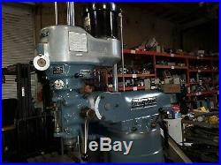 Bridgeport Vari Speed Milling Machine With Impeccable Chrome Ways / Power Feed