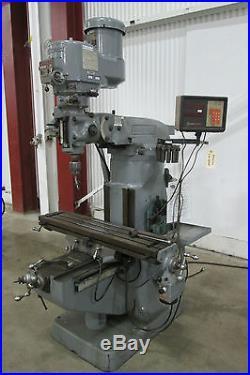 Bridgeport Vertical Milling Machine 9 x 42 2-HP Series 1 Used AM14226