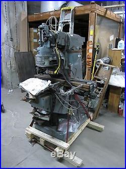 Bridgeport Vertical Milling Machine 9x36 Model 433C