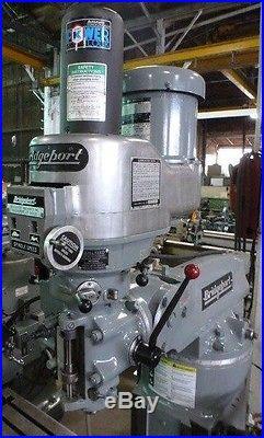 Bridgeport Vertical Milling Machine Series 1 9x48 Tbl. (28476)