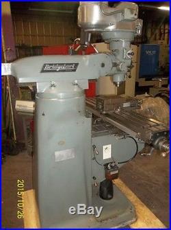 Bridgeport Vertical Milling Machine Series I