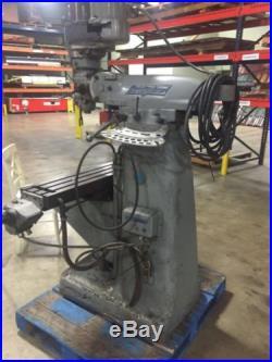 Bridgeport Vertical Milling Machine Series I 1.5 H. P