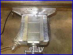 Bridgeport milling machine j head 3 phase 9 by 48 table 12 inch knee bridgeburg