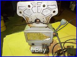 Bridgeport milling machine power feed, working condition no reserve