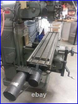 Bridgeport milling machine used kondia heavy duty knee mill