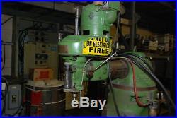 Bridgeport vertical milling machine, model 3474 round ram INV=29415
