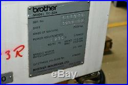 Brother TC22A CNC Machine for Sale